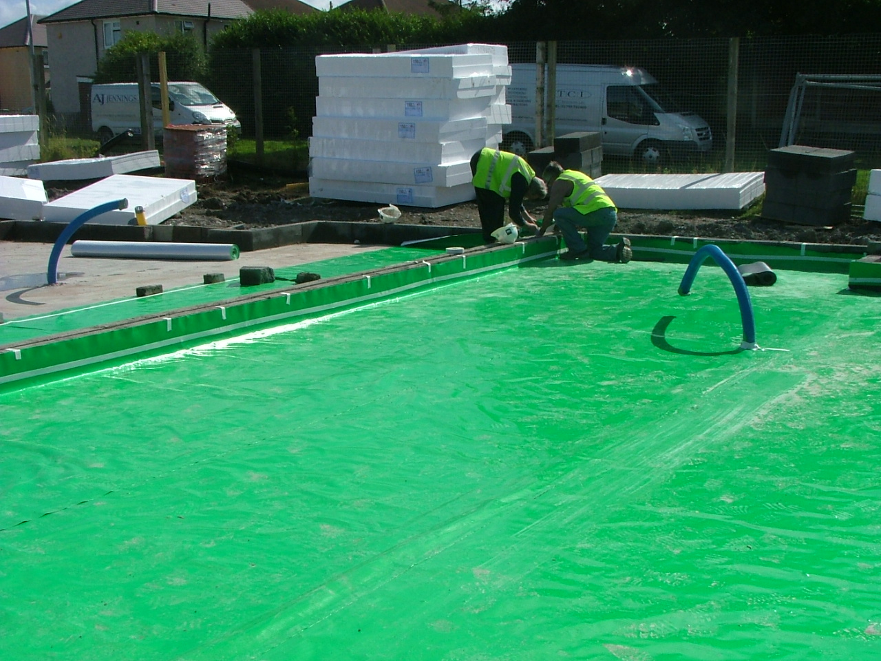 Ground Gas Membrane Installation in Wolverhampton, West Midlands