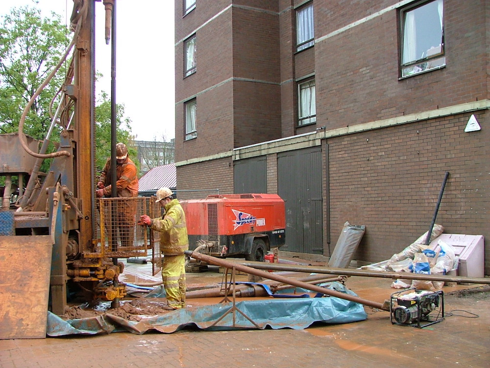 Rotary Open Hole Drilling in Sheffield, South Yorkshire