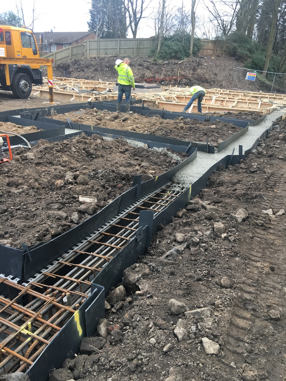 Strip Footings and Pad Foundations in Coventry, West Midalnds