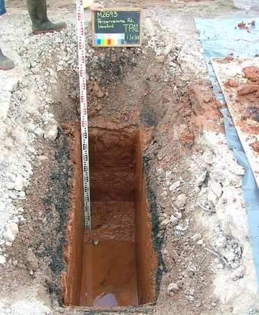 Machine Excavated Trial Pit