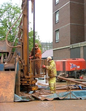 Rotary Core Drilling Ground Investigation in Birmingham