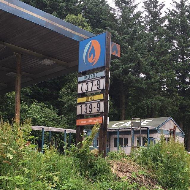 Curfew Petrol Station